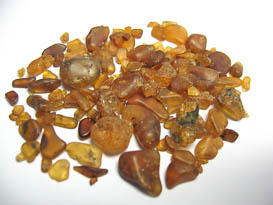 SPESSARTITE GARNET ALLUVIAL ROUGH 112 CTS PLUS