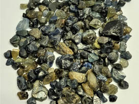150 CARAT LOT OF MIXED COLOUR NATURAL AUSTRALIAN SAPPHIRE