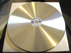 SUPERIOR GRADE  TIN LAP FOR POLISHING.  8 INCH