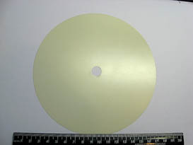 CERIUM OXIDE 6 IN. POLISHING DISCS-5 PIECES TO PACK
