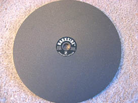 DARKSIDE 8 INCH  SUPERIOR GRADE POLISHING LAP
