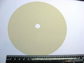 TIN OXIDE 6 IN. POLISHING DISCS-5 PIECES TO PACK